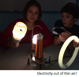 Electricity out of thin air!